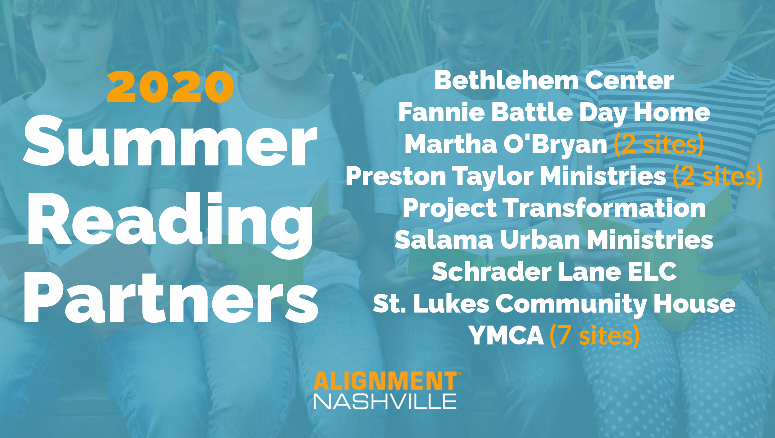 Summer Reading Partners Graphic
